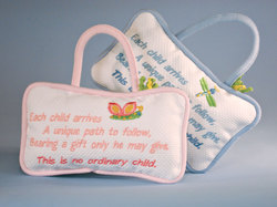No ordinary child Keepsake Pillow Door Hangers